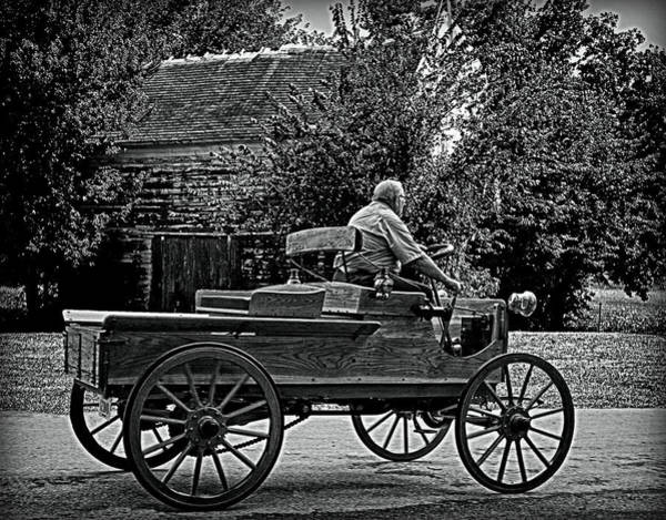 Photograph - 1903 Mercury Horseless Wagon by Tim McCullough