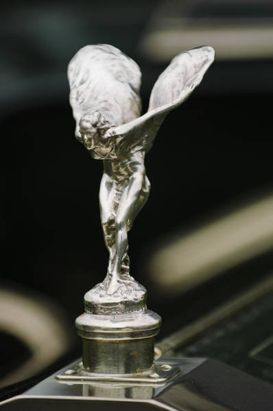 Photograph - 1911 Rolls-royce Silver Ghost Hooper Limousine Hood Ornament by Jill Reger