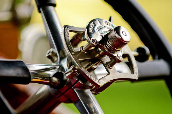 Photograph - 1914 Rolls-royce Silver Ghost Controls by Jill Reger