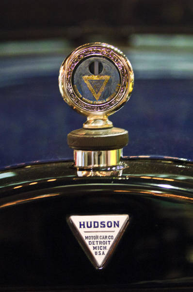 Photograph - 1920 Hudson Super 6 Touring Hood Ornament by Jill Reger