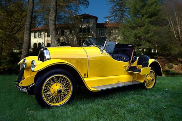 Photograph - 1920 Kissell Silver Special Speedster Gold Bug by Tim McCullough