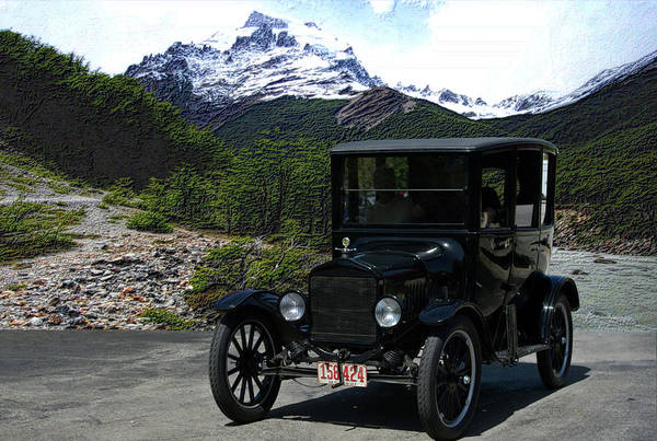 Photograph - 1921 Ford Model T by Tim McCullough