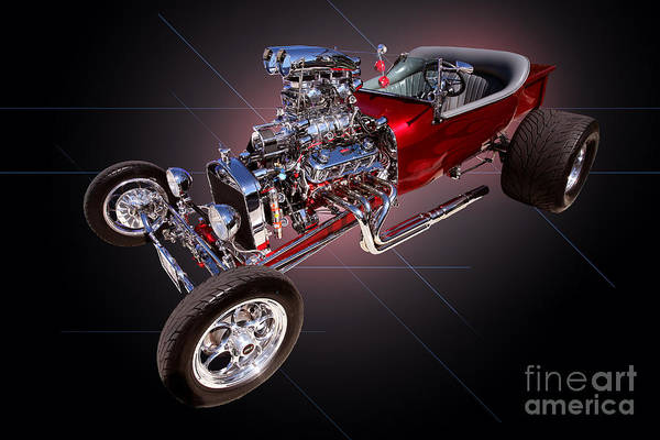 Wall Art - Photograph - 1923 Classic Ford T Bucket by Jim Carrell