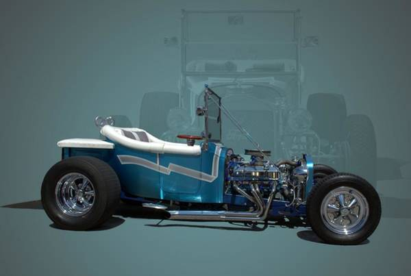Photograph - 1923 Ford Bucket T Hot Rod by Tim McCullough