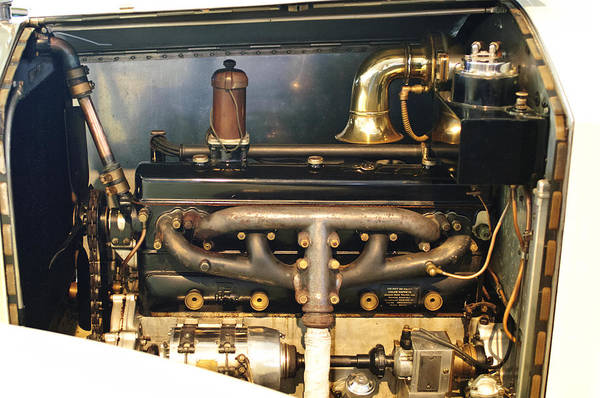 Photograph - 1923 Rolls-royce 20hp Engine by Jill Reger