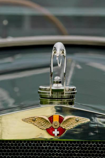 Photograph - 1925 Hispano-suiza H6b Kellner Landaulet Hood Ornament by Jill Reger