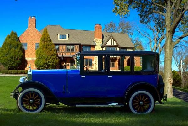 Photograph - 1926 Franklin Sedan by Tim McCullough