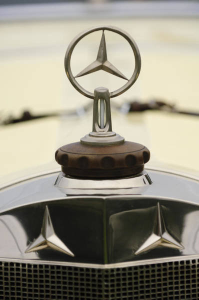 Photograph - 1927 Mercedes-benz S Hood Ornament 2 by Jill Reger