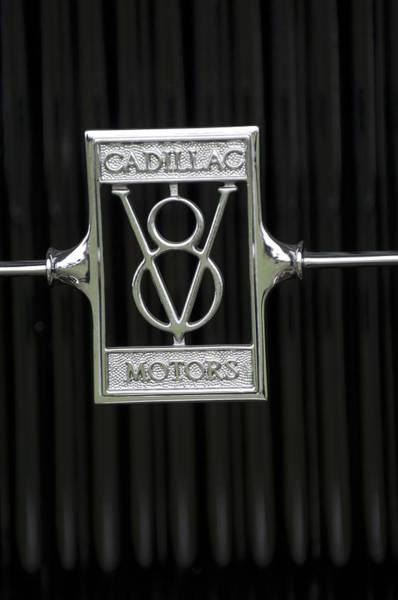 Photograph - 1929 Cadillac 1183 Dual Cowl Phaeton Emblem by Jill Reger