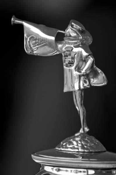 Photograph - 1929 Cadillac 1183 Dual Cowl Phaeton Hood Ornament 2 by Jill Reger