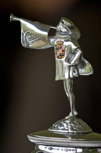 Photograph - 1929 Cadillac 1183 Dual Cowl Phaeton Hood Ornament by Jill Reger