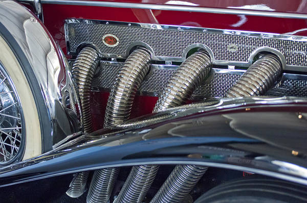 Photograph - 1929 Duesenberg Model J Convertible Sedan by Jill Reger