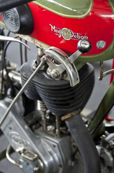 Photograph - 1929 Magnat-debon Bst Motorcycle by Jill Reger