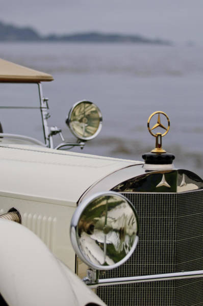 Photograph - 1929 Mercedes-benz S Tourer Hood Ornament by Jill Reger