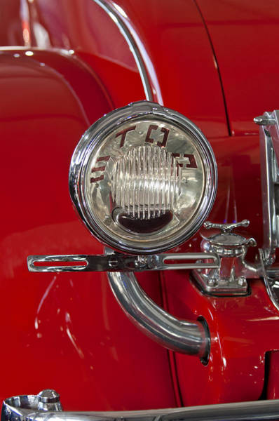 Photograph - 1930 Duesenberg Model J Disappearing-top Convertible Taillight by Jill Reger