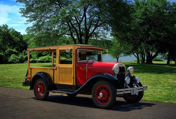 Photograph - 1930 Ford Huckster by Tim McCullough