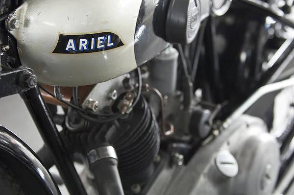 Photograph - 1931 Ariel Motorcycle by Jill Reger