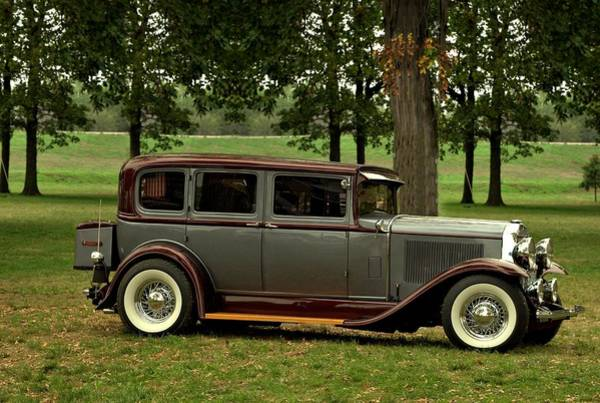 Photograph - 1931 Buick Sedan by Tim McCullough