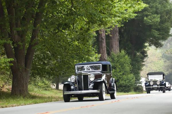Photograph - 1931 Marmon Sixteen Lebaron Convertible Sedan by Jill Reger