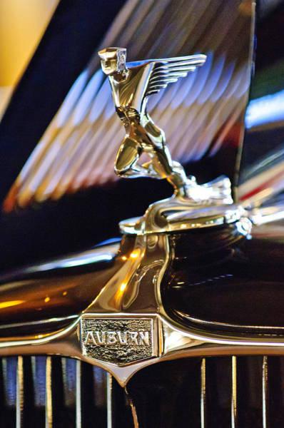 Photograph - 1932 Auburn V-12 Speedster Hood Ornament by Jill Reger