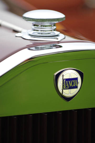 Photograph - 1932 Lancia Dilambda Viotti Phaeton Hood Ornament  by Jill Reger