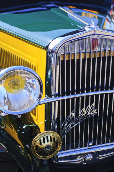 Photograph - 1933 Fiat Balilla Grille by Jill Reger
