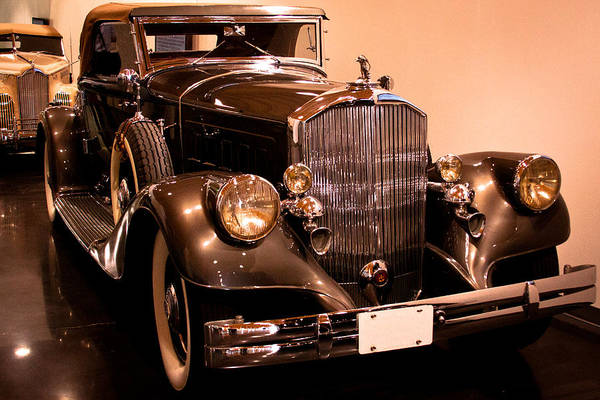 Pierce-arrow Wall Art - Photograph - 1933 Pierce-arrow 12 Model 12412 Labaron Convertible Coupe by David Patterson