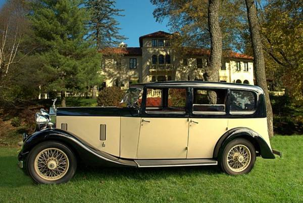 Photograph - 1933 Rolls Royce 20 28  by Tim McCullough