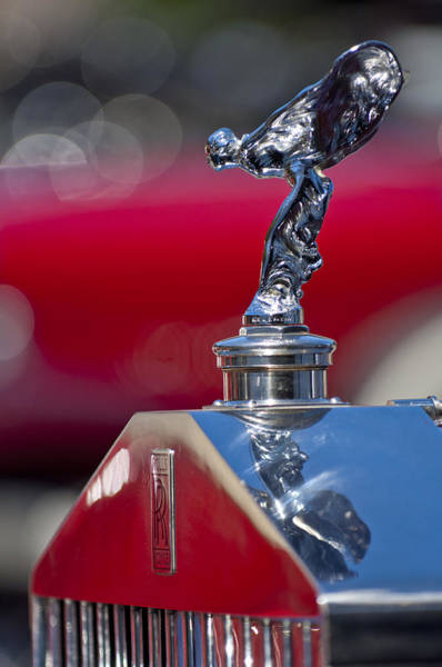 Photograph - 1933 Rolls-royce Hood Ornament by Jill Reger