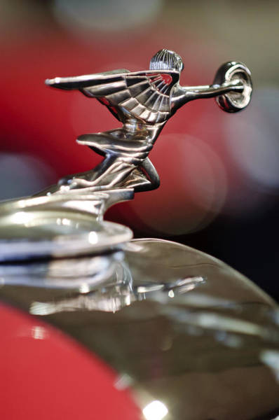 Photograph - 1934 Packard Coupe Hood Ornament by Jill Reger