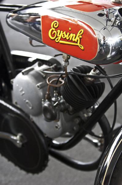Photograph - 1935 Eysink Motorcycle by Jill Reger