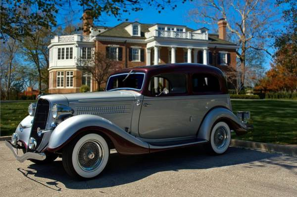 Photograph - 1935 Hudson Terraplane Brougham by Tim McCullough