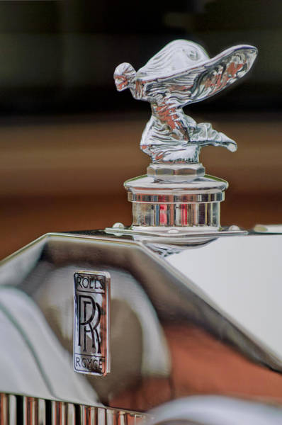 Photograph - 1935 Rolls-royce Phantom II Continental Drophead Coupe Hood Ornament by Jill Reger