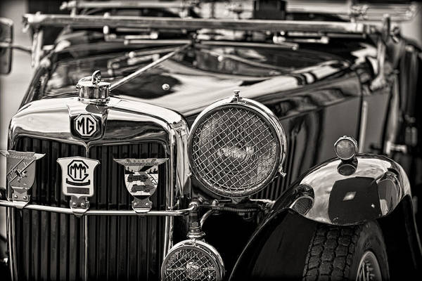 Photograph - 1935 Vintage Mg Pb by Clare Bambers