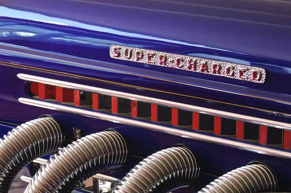 Photograph - 1936 Auburn Speedster Replica Side Pipes by Jill Reger
