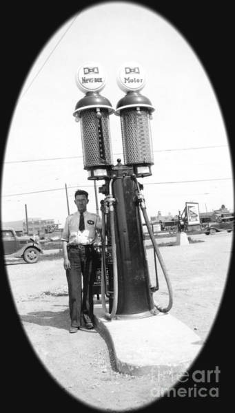 Photograph - 1937 Gas Pump Regina by Donna L Munro