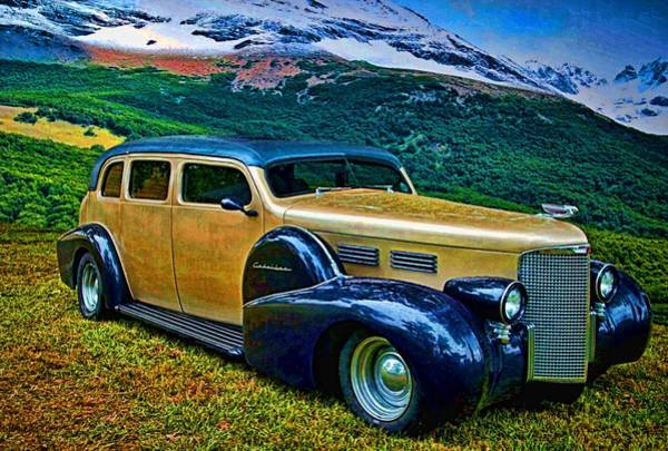 Photograph - 1938 Cadillac Touring Car  by Tim McCullough