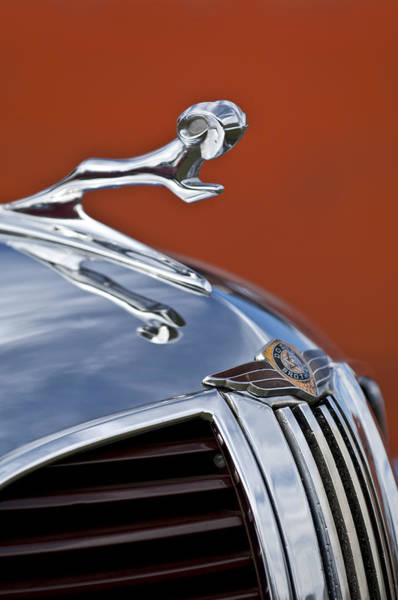 Photograph - 1938 Dodge Hood Ornament by Jill Reger