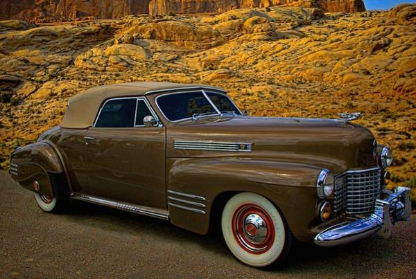 Photograph - 1940 Cadillac Convertible by Tim McCullough