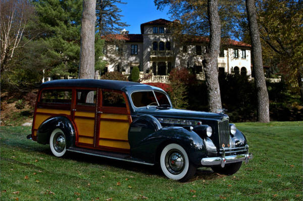 Photograph - 1940 Packard Cantrell Woody Station Wagon by Tim McCullough