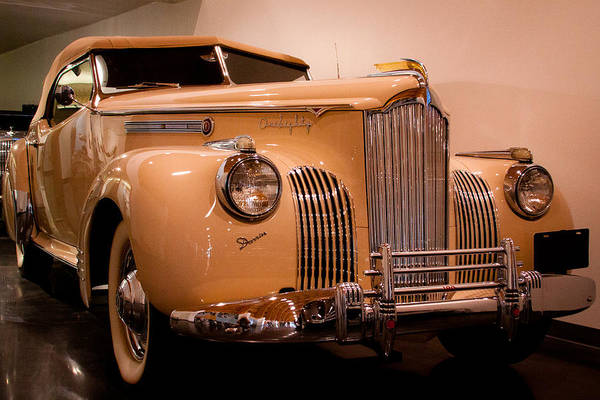 Photograph - 1941 Packard Darrin Victoria Convertible by David Patterson