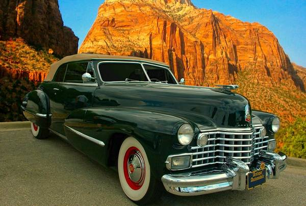 Photograph - 1942 Cadillac Series 62 Convertible Coupe by Tim McCullough