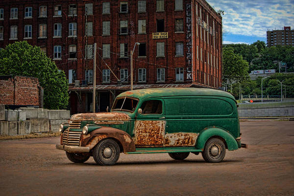 Photograph - 1946 Gmc Panel Truck by Tim McCullough