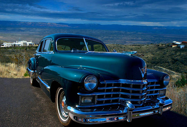 Photograph - 1947 Cadillac Model 62 Sedan by Tim McCullough