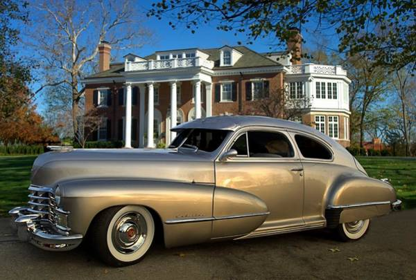 Photograph - 1947 Custom Cadillac Coupe by Tim McCullough