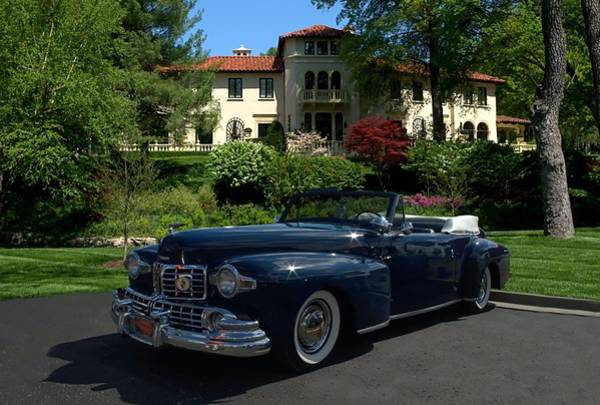 Photograph - 1947 Lincoln Continental Convertible by Tim McCullough