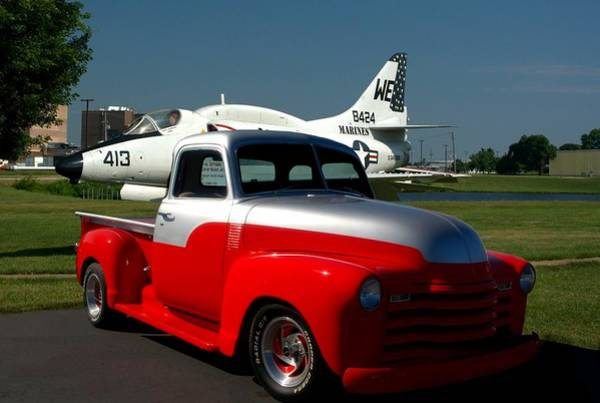 Photograph - 1948 Chevrolet Custom Pickup Truck by Tim McCullough