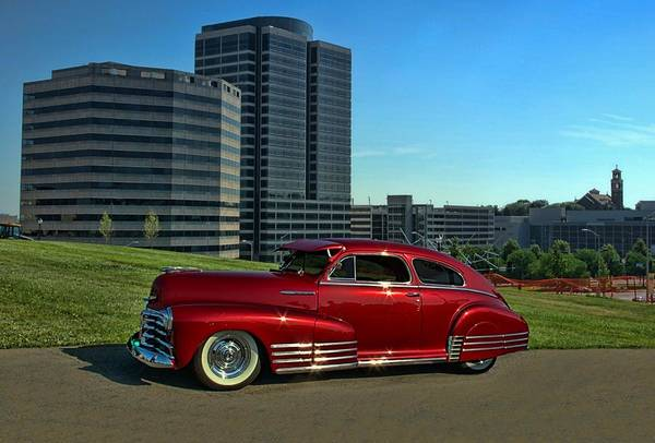 Photograph - 1948 Chevrolet Fleetline by Tim McCullough