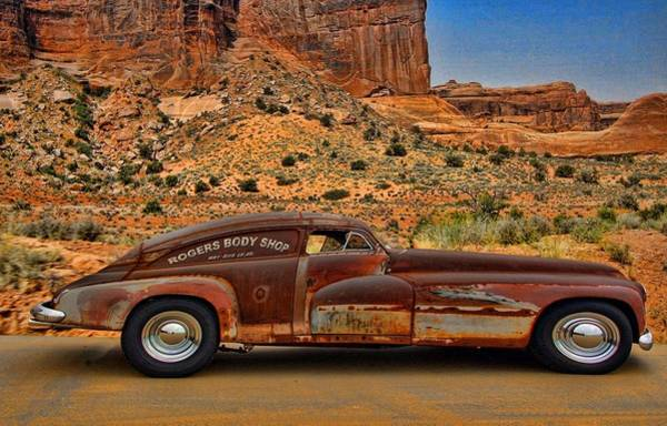 Photograph - 1948 Oldsmobile Sedan Delivery Fastback by Tim McCullough