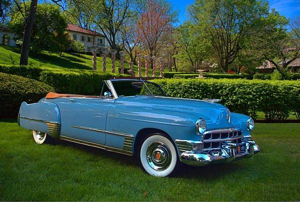 Photograph - 1949 Cadillac Series 62 Convertible by Tim McCullough